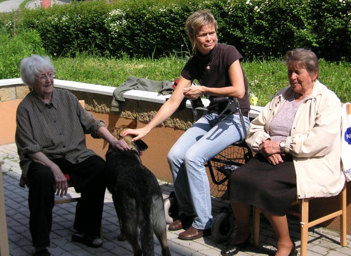Návštěva klubu důchodců