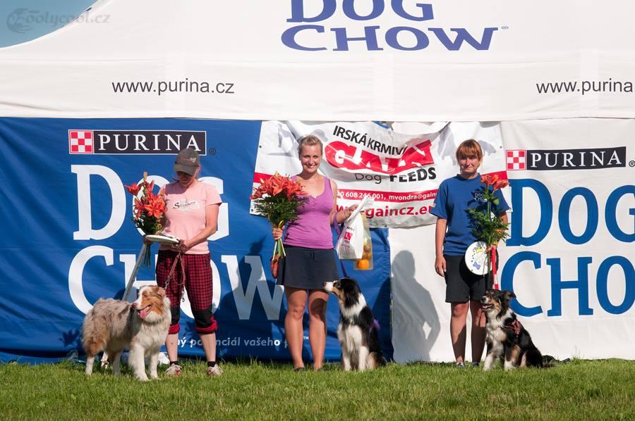 Kateřina Dvořáková a Abby: 1. závod = 1. místo