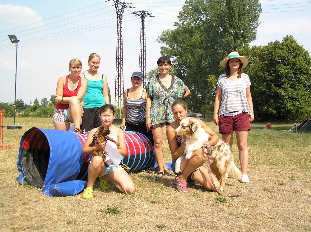 Agility a obedience tábor u Superpsa